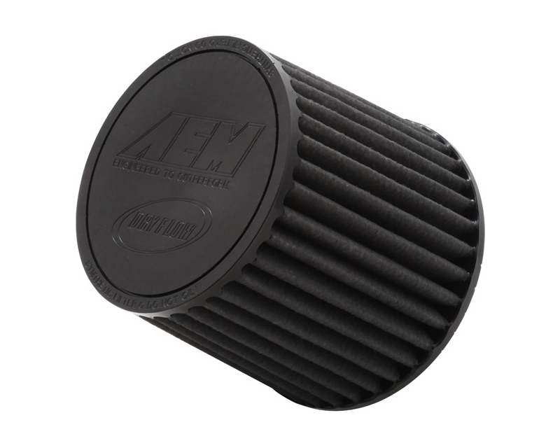 Image of AEM DryFlow Air Filter 2.5inch X 5inch Universal