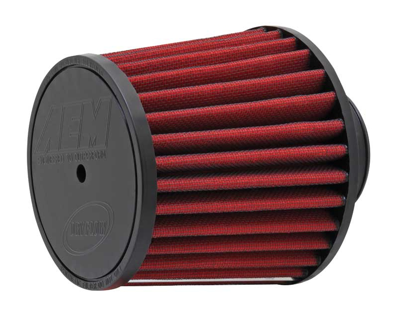 Image of AEM DryFlow Air Filter 2.5inch X 5inch With 716inch Hole Universal