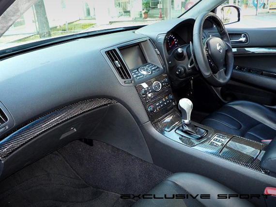 Image of Access Evolution Interior Panel 1 - Carbon Infiniti G37 07-13