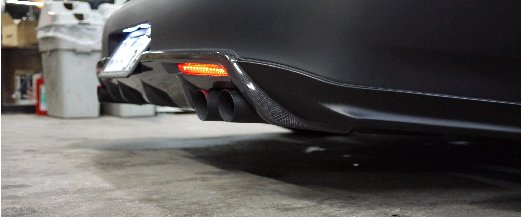 Image of Access Evolution Rear Under Diffuser 2 Infiniti G37 07-13