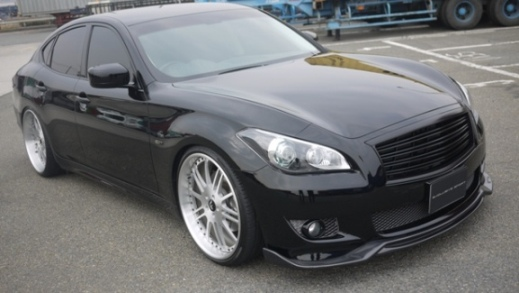 Image of Access Evolution Front Lip 1 Infiniti M37 M56 11-13