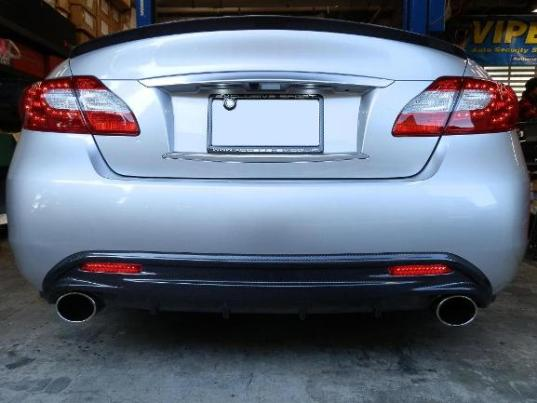 Image of Access Evolution Rear Under Diffuser 1 Infiniti M37 M56 11-13