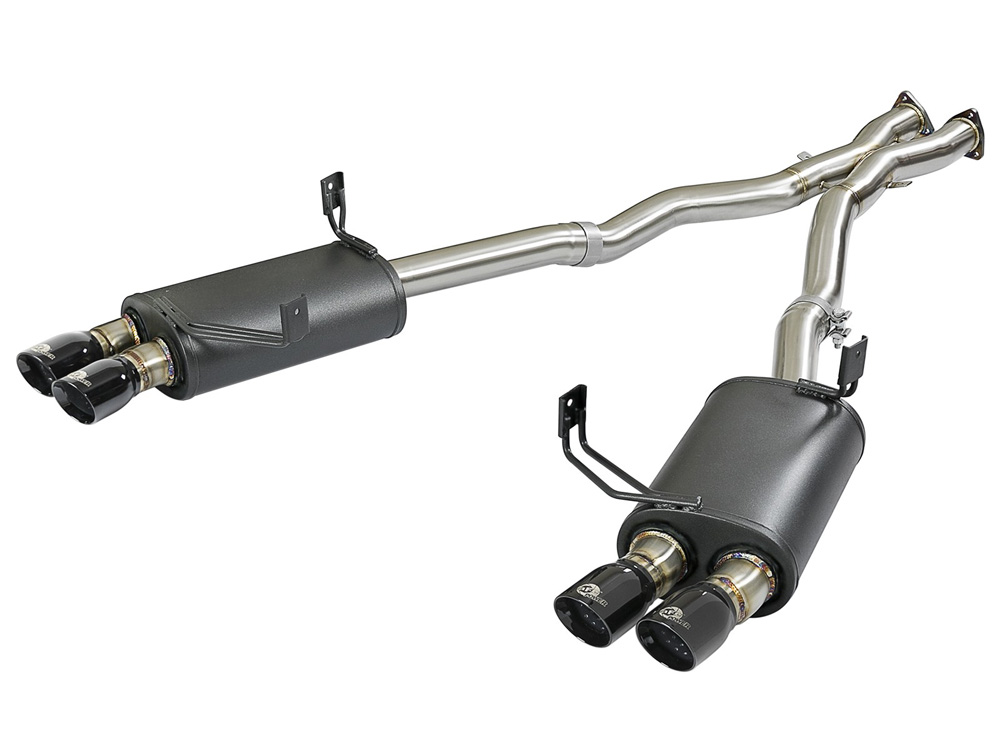 "AFE MACH Force-Xp 2-1/2"" 304 Stainless Steel Catback Exhaust System BMW Z4 M (E85/E86) 05-08 L6-3.2L (S54) - 49-36339-B"