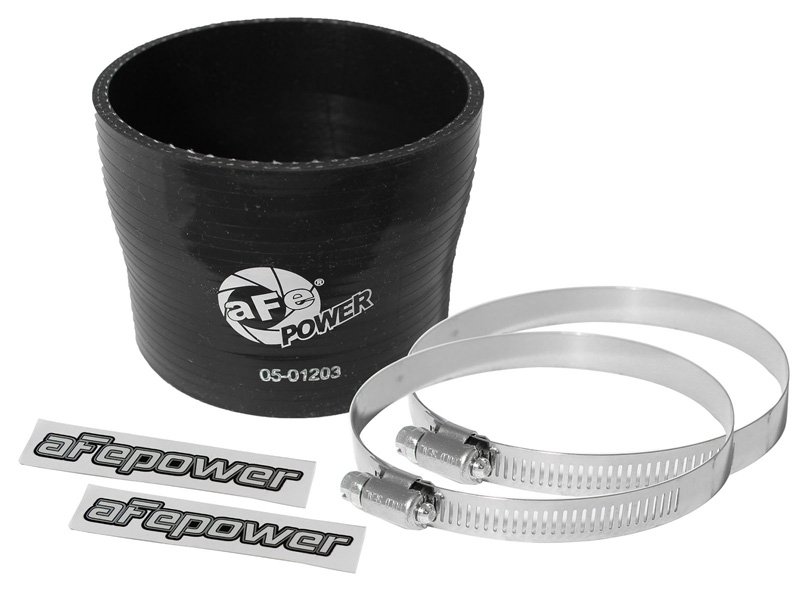 """aFe POWER 59-00019 Magnum FORCE Performance Accessories Coupling Kit: (3-1/2 x 3-3/4"""") ID x 3"""" L Reducer (Silicone) - 59-00019"""