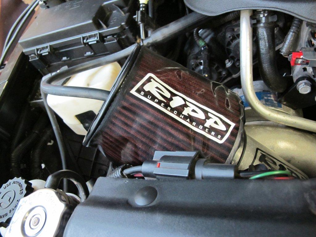 Air Filter Sock 07-16 Wrangler JK K&N Air Filters RIPP Superchargers - AFS-