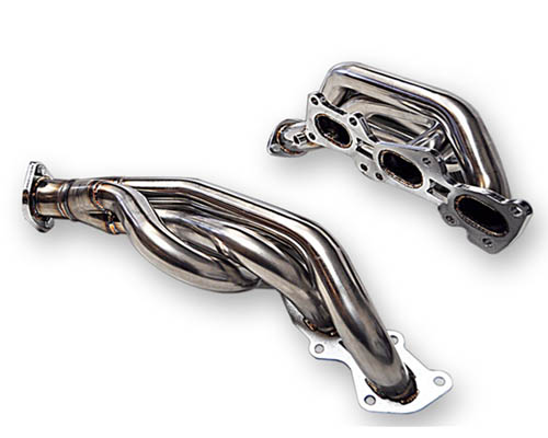 ARK Stainless R-Spec 3-2-1 Headers Polished Hyundai Genesis Coupe 3.8L V6 10-13 - AH0702-0900