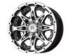 Image of American Outlaw Buckshot 16X8 5x114.3 -6mm Black Machined Face