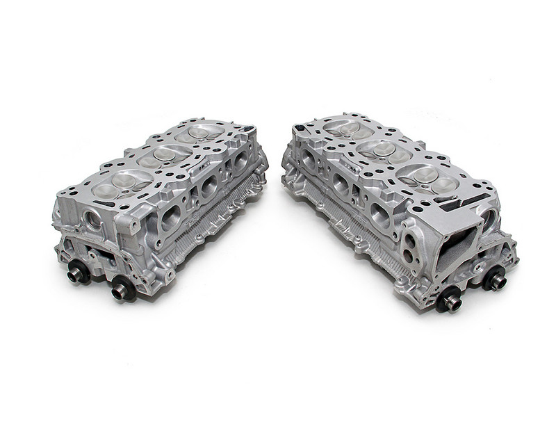 Image of AMS Performance CNC Race Ported Cylinder Heads without Core Being Sent In Nissan GT-R R35 09-15