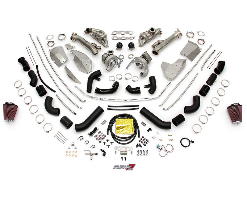 AMS Performance Alpha 10 Turbo Kit Nissan GT-R R35 09-18 - ALP.07.14.0102-1