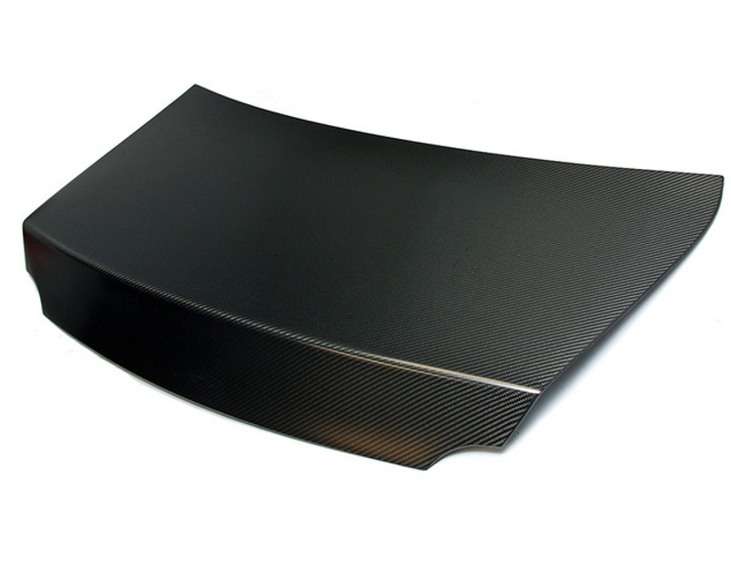AMS Performance 4X4 Twill Matte Finish Carbon Fiber Trunk Lid without Holes for Factory Wing Nissan GT-R R35 09-18 - ALP.07.15.0011-4
