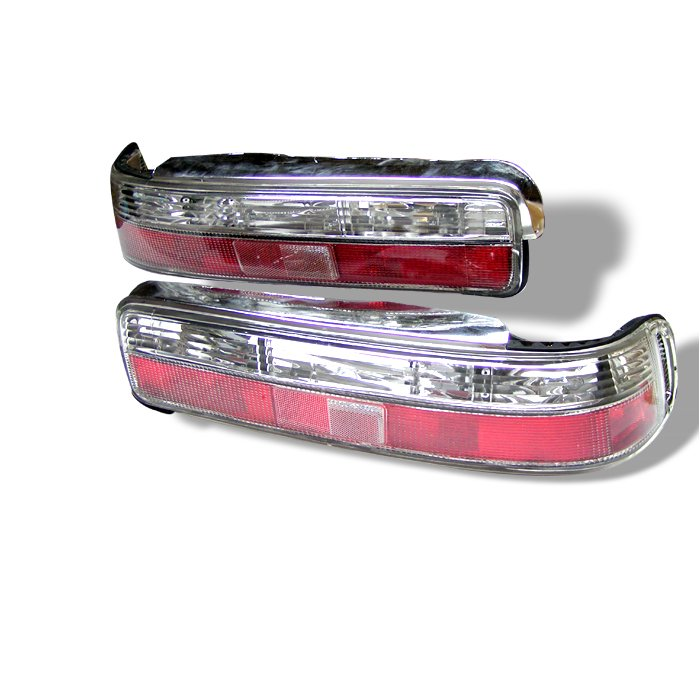 Spyder red clear Altezza Tail Lights Acura Integra 2dr 90-93 - ALT-YD-AI90-RC
