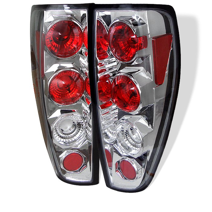 Spyder Altezza Chrome Tail Lights Chevrolet Colorado 04-10 - ALT-YD-CCO04-C