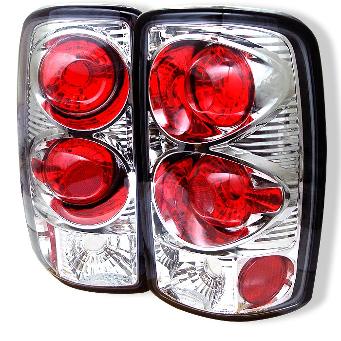 Spyder Lift Gate Style Only Altezza Chrome Tail Lights Chevrolet Suburban Tahoe 1500 2500 00-06 - ALT-YD-CD00-C