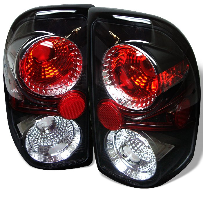 Spyder Altezza Black Tail Lights Dodge Dakota 97-04 - ALT-YD-DDAK97-BK