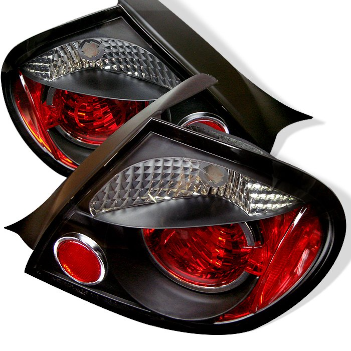 Spyder Altezza Black Tail Lights Dodge Neon 03-05 - ALT-YD-DN03-BK