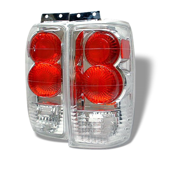 Spyder Altezza Chrome Tail Lights Ford Expedition 97-02 - ALT-YD-FE97-C