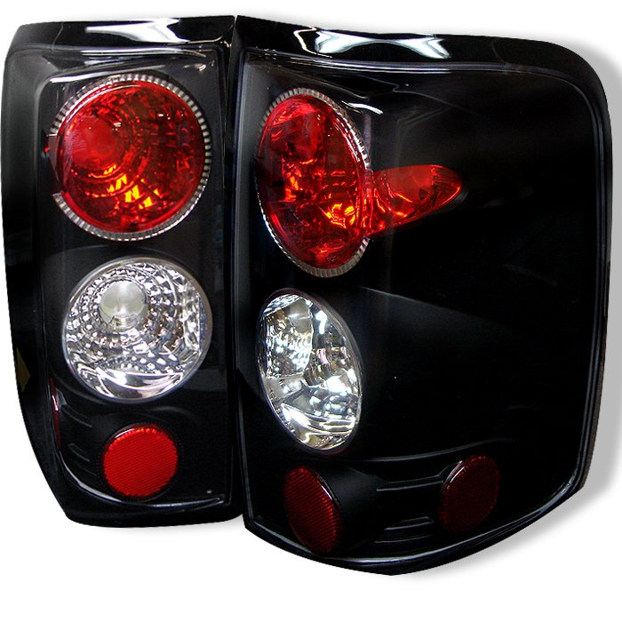 Spyder Altezza Black Tail Lights Ford F150 Styleside 04-08 - ALT-YD-FF15004-BK