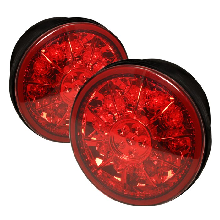 Spyder LED Trunk Red/Clear Tail Lights Lexus IS 300 01-03 - ALT-YD-LIS300-TR-LED-RC