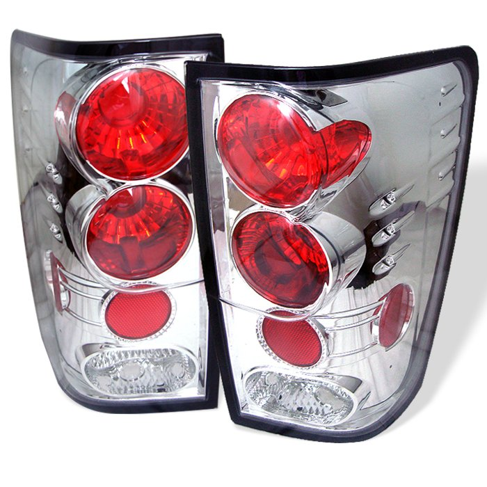 Spyder Altezza Chrome Tail Lights Nissan Titan 04-11 - ALT-YD-NTI04-C