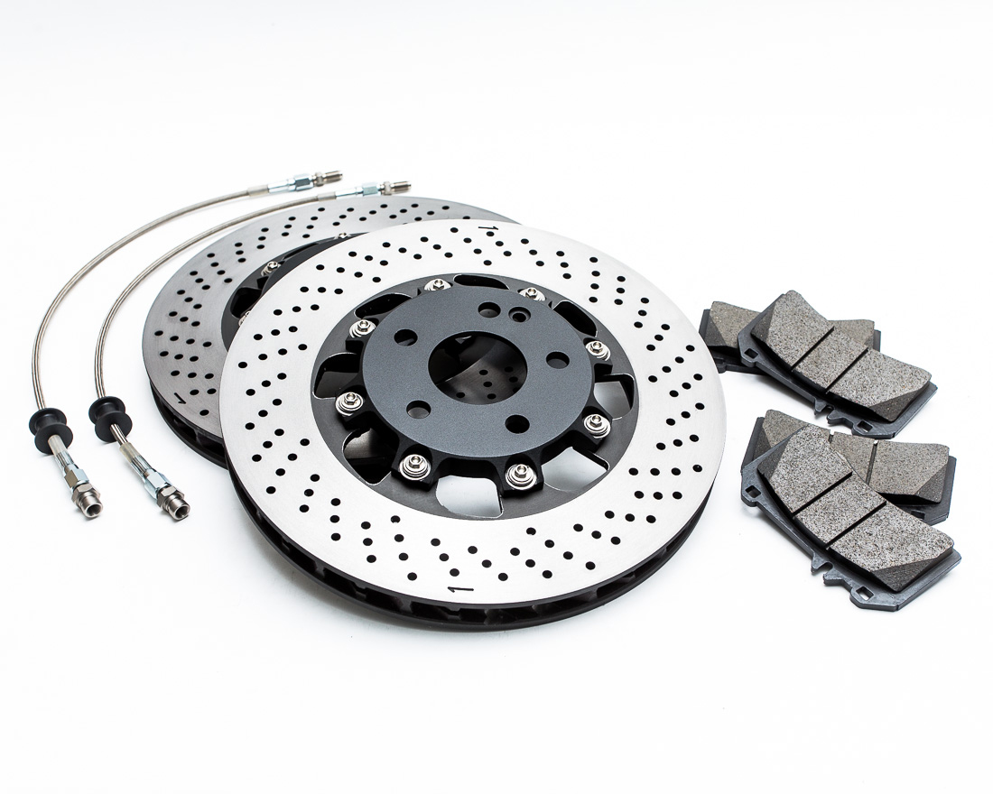 WP Pro Front 350x32mm 2pc Brake Rotor Upgrade Mercedes A45 | CLA45 | GLA45 - WP-A45-RTR-F