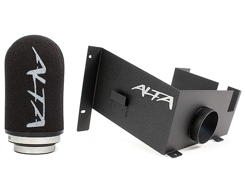 Alta Performance Cold Air Intake System Black Mini Cooper S with Auto Trans 02-06 - AMP-INT-300BK