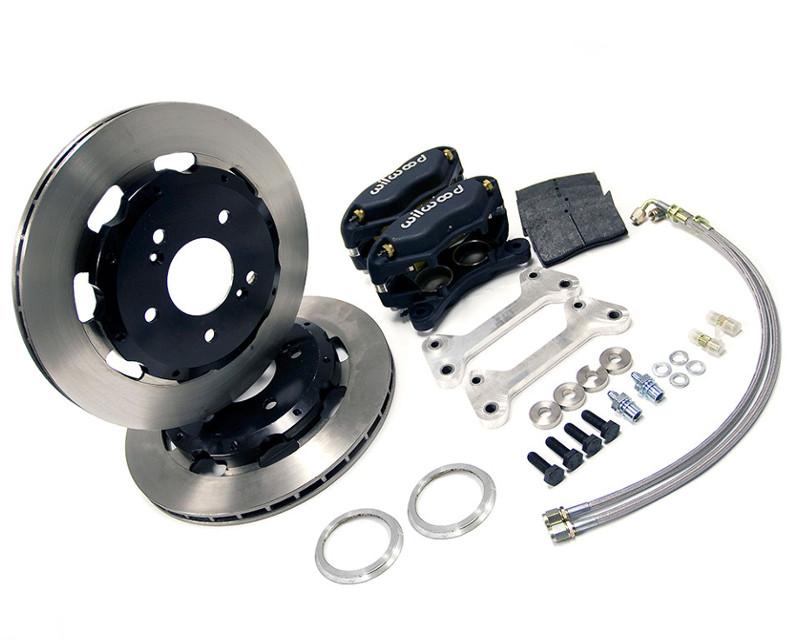 AMS Performance Lightweight Brake Kit Mitsubishi Evolution VII | VIII | IX 01-07 - AMS.01.01.0104-1