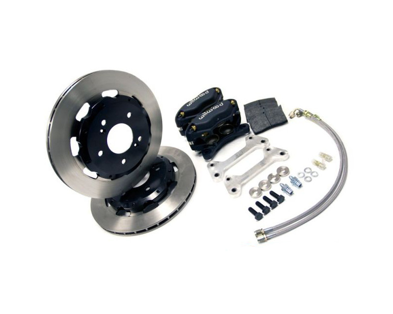 AMS Performance Front Lightweight Brake Kit Mitsubishi Evolution X 08-14 - AMS.04.01.0002-1