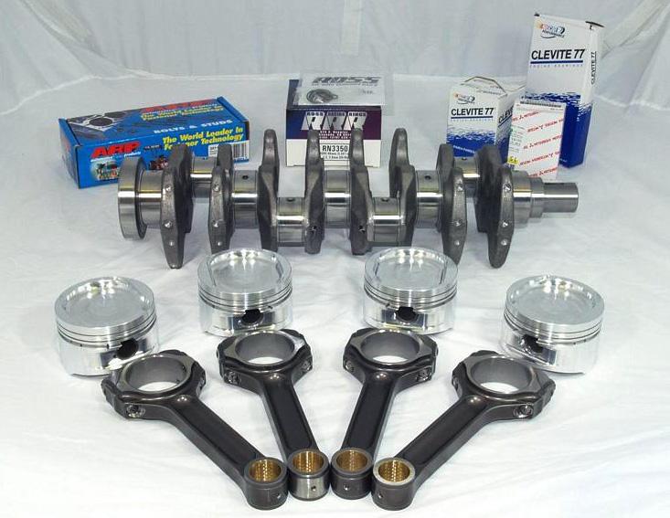 AMS Stroker Kit Standard Bore Mitsubishi Evolution VIII IX 03-07 - AMS.01.04.0030-1
