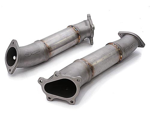 AMS Performance Race Downpipes Nissan GT-R R35 09-18 - ALP.07.05.0001-1