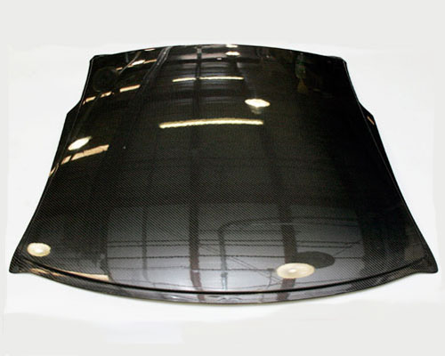 Image of AMS Performance Carbon Fiber Roof Panel 2x2 Twill Weave Nissan GT-R R35 09-14