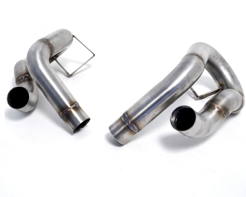 Agency Power Secondary Muffler Bypass Pipes Porsche 991 Carrera S 12-16