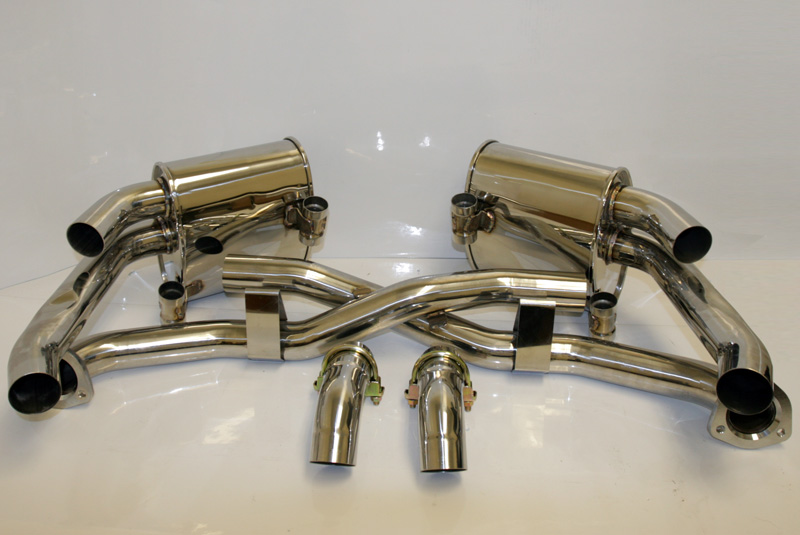 Agency Power Exhaust Porsche 997.2 Carrera 09-11 - AP-997.2-170