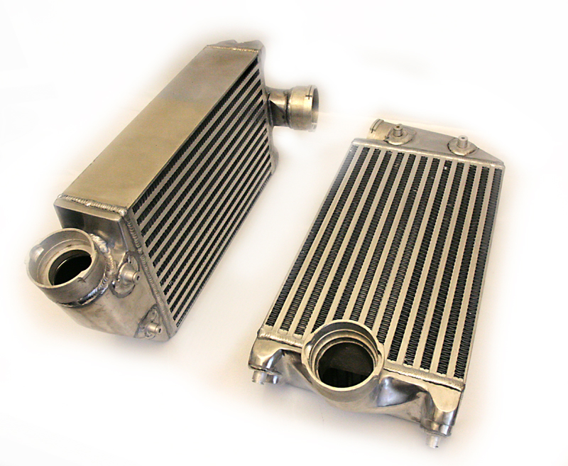 Agency Power High Flow Racing Intercoolers Porsche 997TT 07-09 - AP-997TT-108