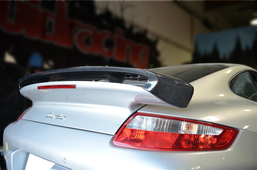 Agency Power Carbon Fiber Type II Add-on Rear Wing Porsche 997 TT 07-13 - AP-997TT-612