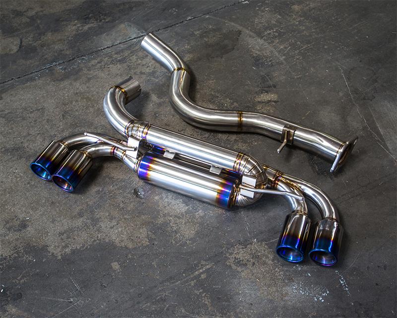 Agency Power Titanium Muffler Quad Tip Exhaust BMW 1M E82 N54 - AP-BM-W-02