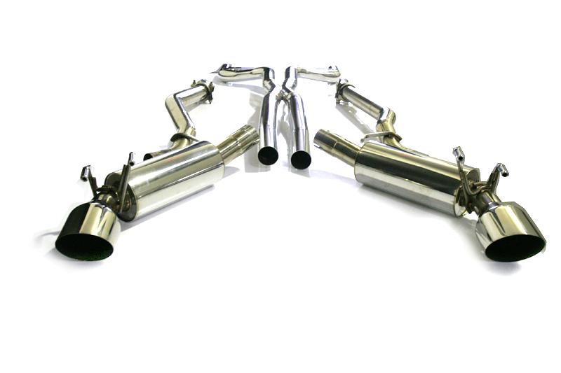 Agency Power Catback Exhaust Including X-Pipe Chevrolet Camaro SS V8 10-13 - AP-CA10-170
