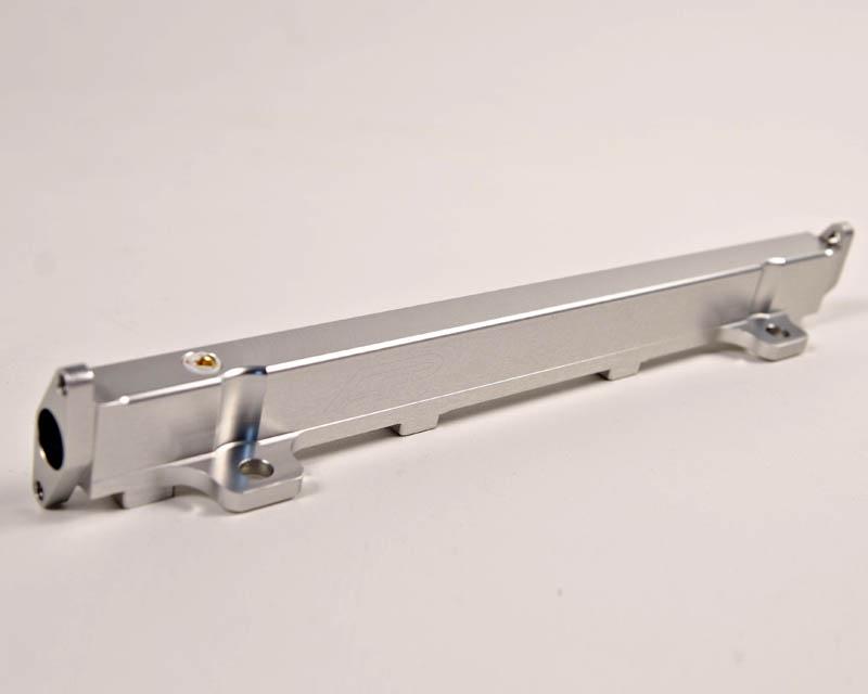 Agency Power High Flow Fuel Rail Mitsubishi EVO VIII MR 03-05 | Silver - AP-CT9A-120S
