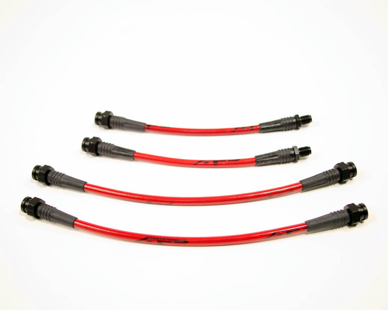 Agency Power Rear Steel Braided 4pc Brake Line Kit Mitsubishi Eclipse 90-94 - AP-DSM1GA-410