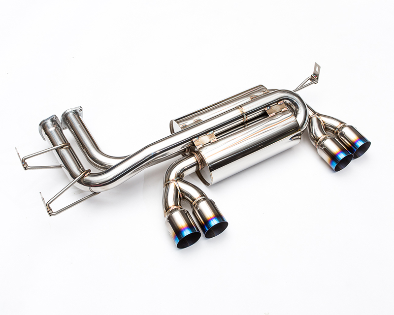 Agency Power Axle Back Muffler with Titanium Tips BMW M3 E46 01-05