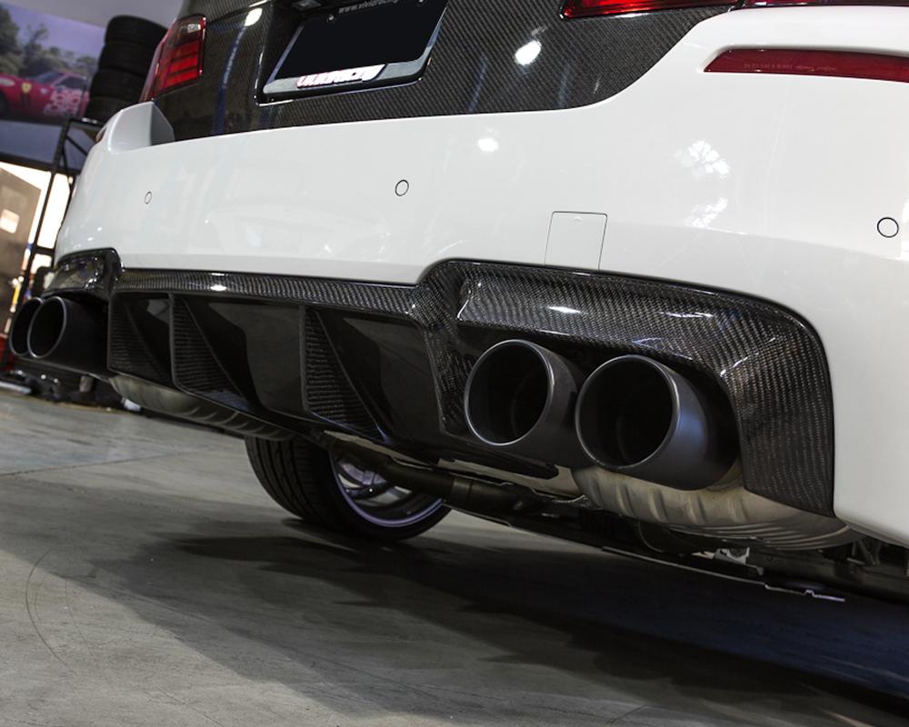 Agency power carbon fiber rear diffuser bmw f10 m5 12 17