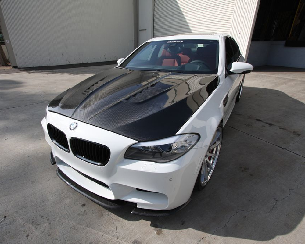 Agency Power Carbon Fiber Hood DTM Style BMW F10 M5 550 535 528 11-17 CLEARANCE - AP-F10M5-620