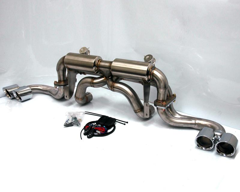 Agency Power Electronic Valve Controlled Exhaust Ferrari 360 Modena 99-05 - AP-F360-170