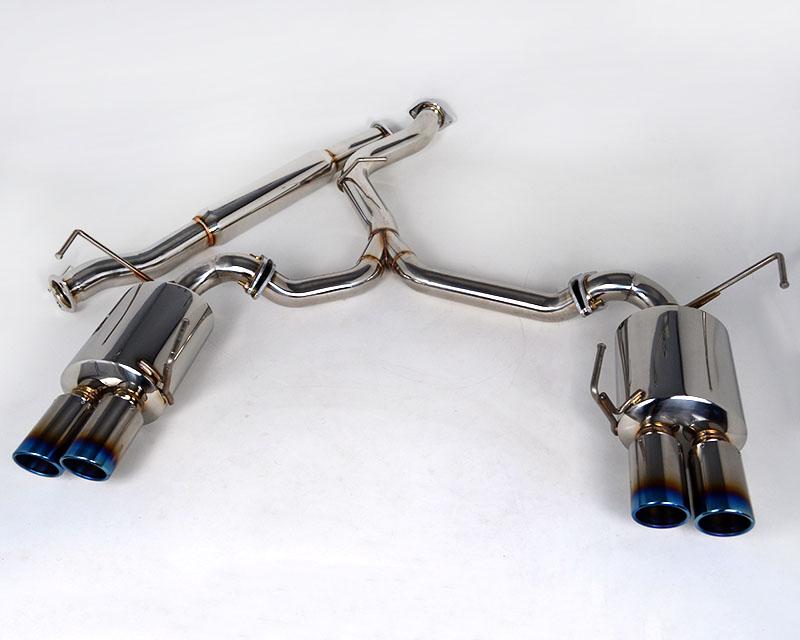 Agency Power Catback Exhaust System Titanium Quad Tips Subaru WRX 11-15 - AP-GRBS-170T