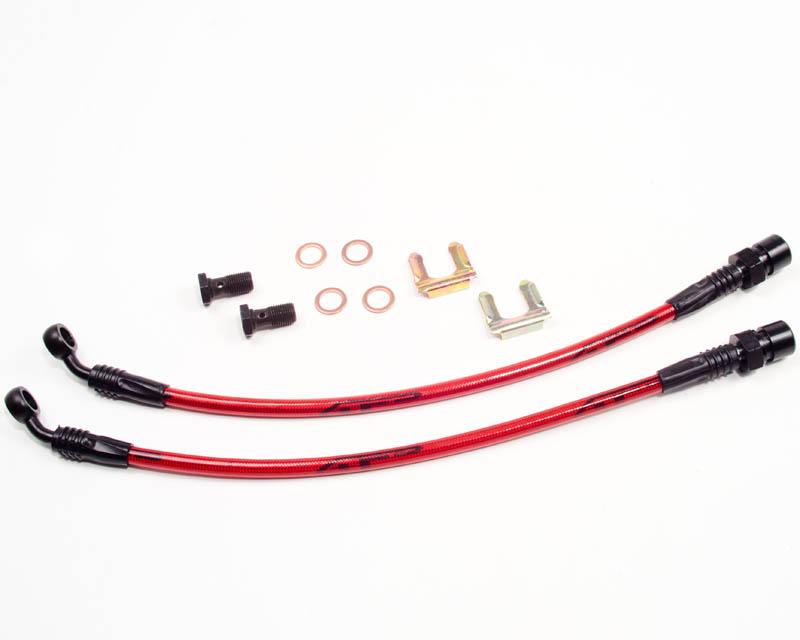 Agency Power Rear Steel Braided Brake Lines Pontiac Solstice 06-09 - AP-SSKY-410