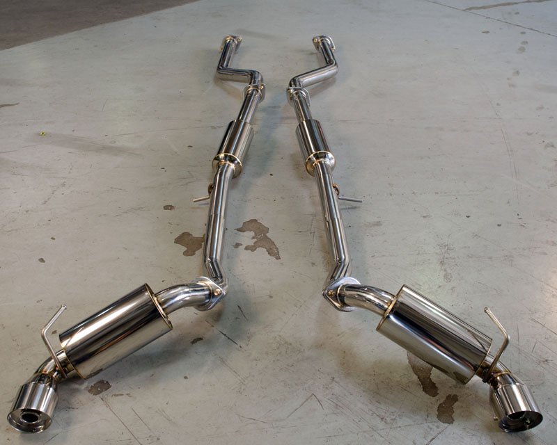 Agency Power Catback Exhaust Stainless Tips Nissan 370Z 09-18 - AP-Z34-170