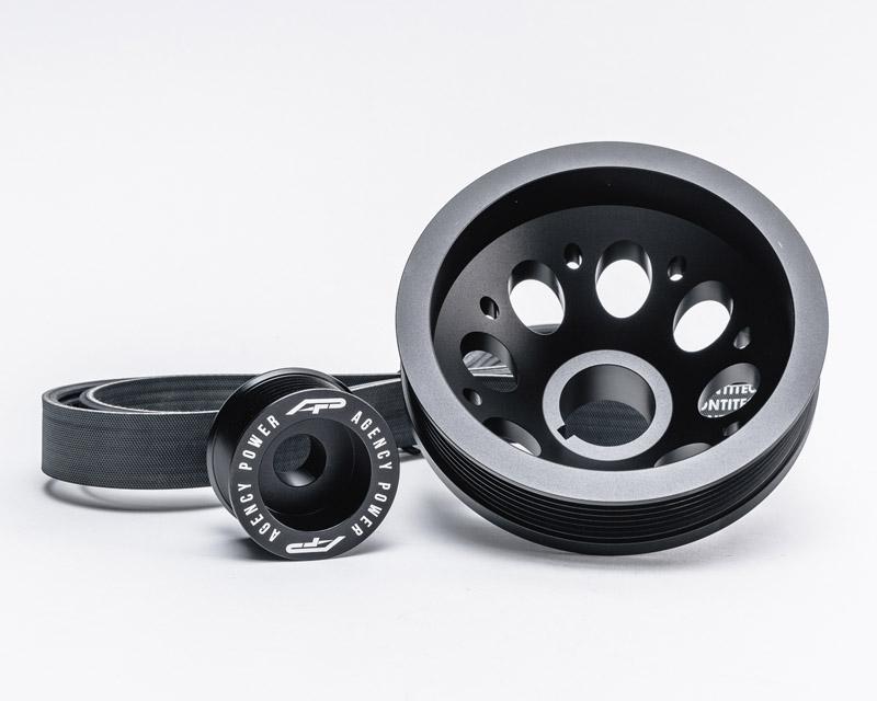 Agency Power Lightweight Pulley Kit Nissan GT-R R35 | Nissan 350Z | Infiniti G37 09-18 - AP-Z34-130