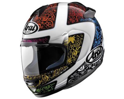 Image of Arai Vector-2 Bright Helmet LG