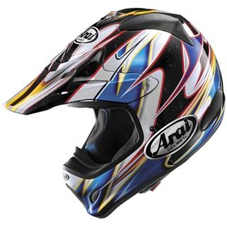 Image of Arai VX-Pro3 Akira Blue Helmet SM