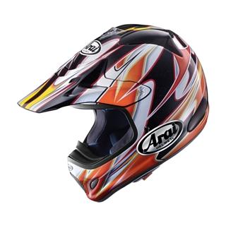 Image of Arai VX-Pro3 Akira Orange Helmet MD