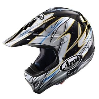 Image of Arai VX-Pro3 Akira Silver Helmet SM
